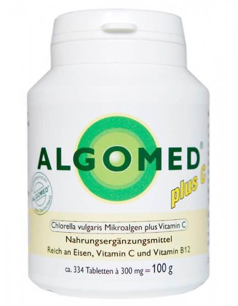 ALGOMED CHLORELLA plus C Tabletten, schadstofffrei