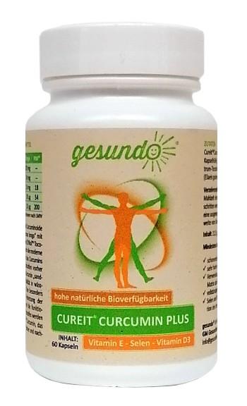Cureit Curcumin PLUS Tocotrienole, Selen, Vitamin D3