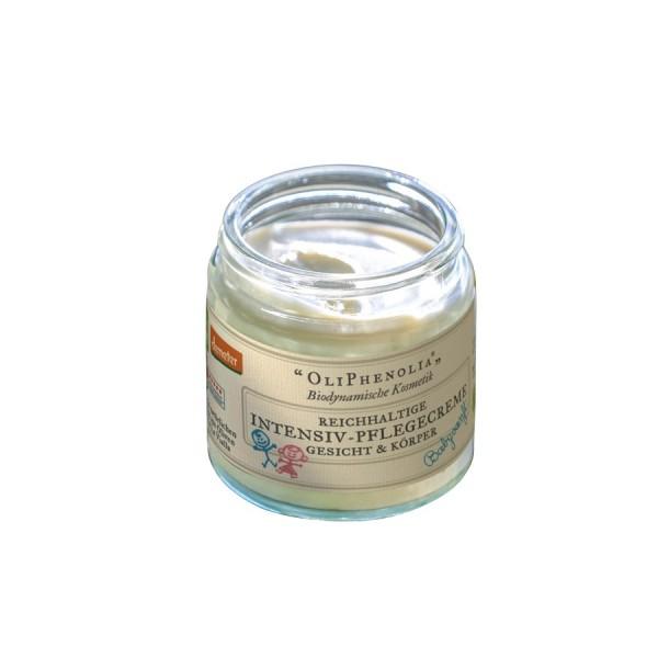 Reichhaltige Intensiv-Pflegecreme für Gesicht & Körper - Babysanft OliPhenolia