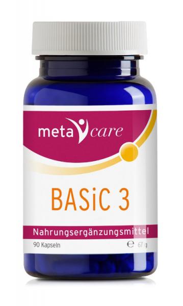 metacare BASiC 3 mit wildgewachsenen Kräutern
