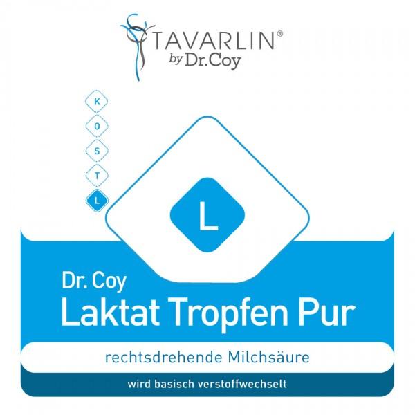 Dr. Coy´s Laktat Tropfen - pure, rechtsdrehende L(+)-Milchsäure