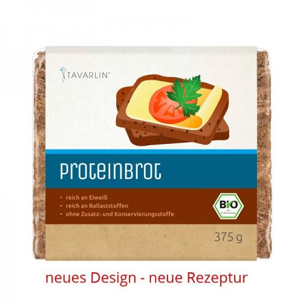 Protein-Brot, BIO mit Roggenvollkorn, Hanfnusskernen und Soja