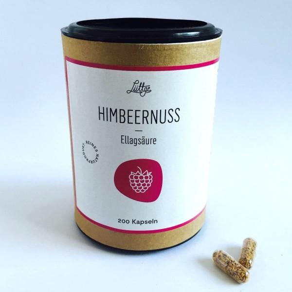 Himbeernuss - Rubus-seeds Nr. 6 Kapseln mit Ellagsäure