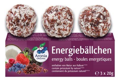 Bio Aronia Energiebällchen