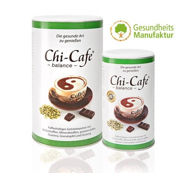 Chi-Cafe balance mit Akazienfaser-Ballaststoffen, Magnesium, Calcium und Guarana