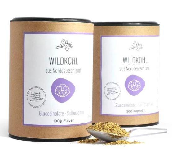 Wildkohl (ehemals Brassica Nr. 2) aus Brokkoli-Sprossen Wildkohl mit Sulforaphan und Quercetin