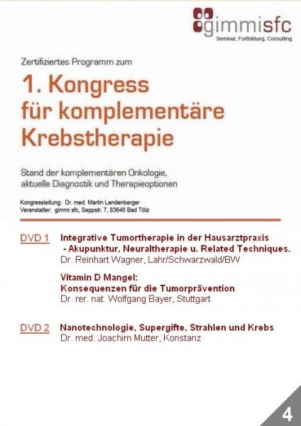 4.DVD zum Kongress für komplementäre Krebstherapie