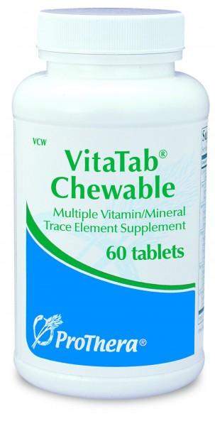 VitaTab Chewable - Multi-Vitamin und Multi-Mineral-Tabletten