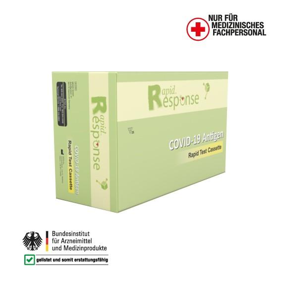 COVID-19 Spucktest - Rapid Response Antigen-Schnelltests 25 Stk.