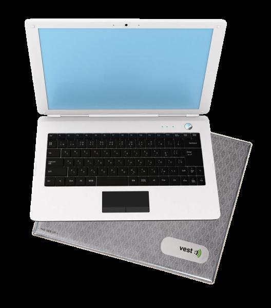 Elektrosmog-reduzierende Laptop-Unterlage
