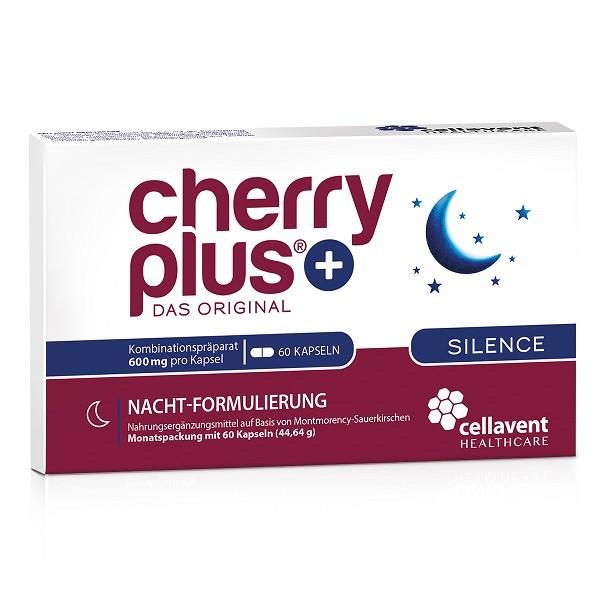 Cherry Plus Silence - Montmorency-Sauerkirschen-Kapseln