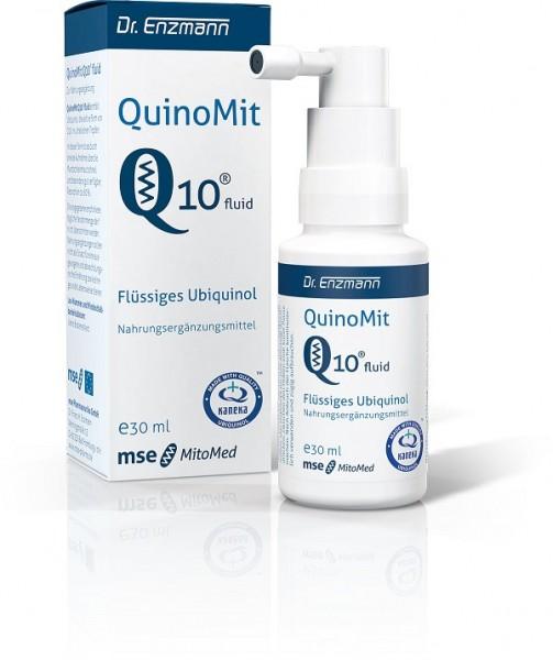 Quinomit Q10 Fluid Tropfen 30 ml mit Ubiquinol
