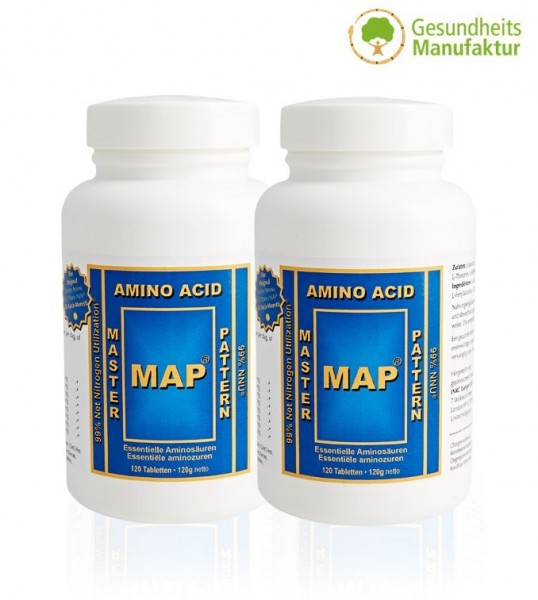 2er Pack MAP - Master Amino Acid Pattern von Prof.Dr. M.Luca-Moretti