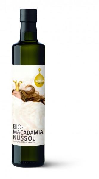Macadamianussöl, BIO - kaltgepresst, 100% naturrein