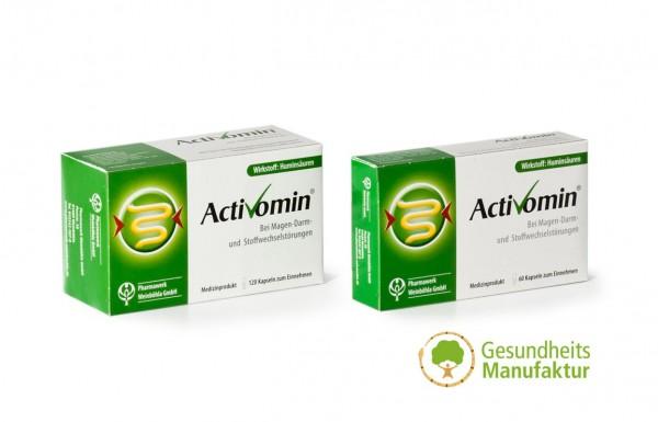 Activomin - Huminsäure - bei Magen- Darm- und Stoffwechselstörungen
