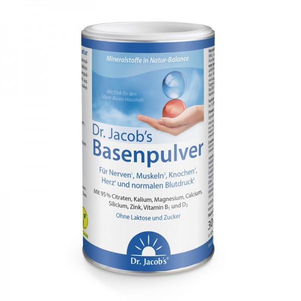 Basenpulver mit organischen Citraten und Vitamin D