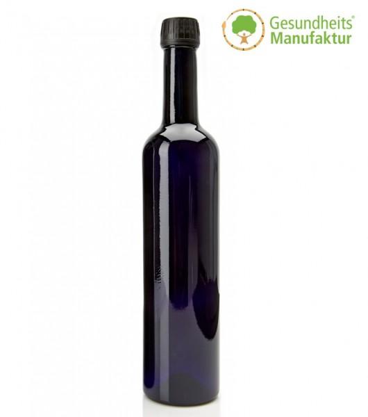 Violett-Glas - MIRON-Glas - Wasserflasche 500ml