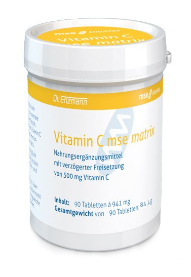 MSE Vitamin C matrix 500 mg