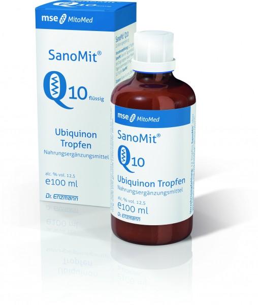SanoMit Q10 fluessig 100 ml mit Ubiquinon