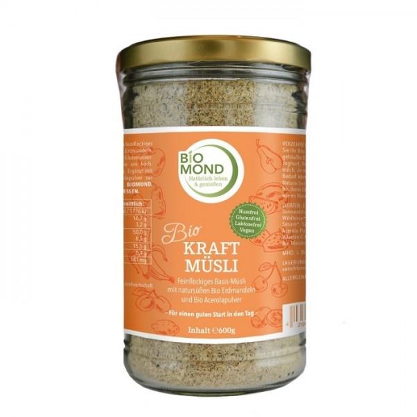 Bio Kraft Müsli - Biokraft, glutenfrei, nussfrei, ungesüßt, mit Vitamin C