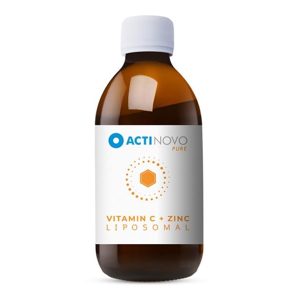 Liposomales Vitamin C + Zink
