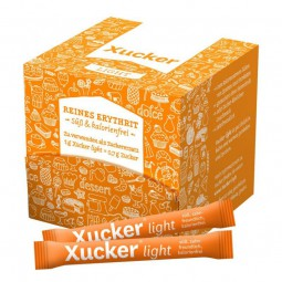 Erythrit / Erythritol - Xucker light-Sticks in Schachtel