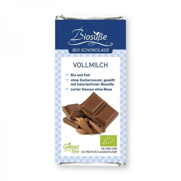 BIOSÜSSE Bio-Schokolade - Confiserieschokolade ohne Zuckerzusatz