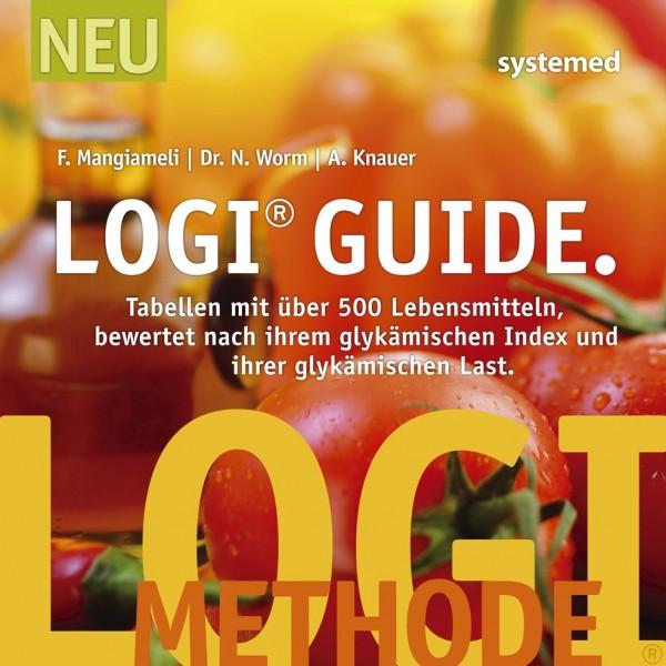 LOGI-Guide: Tabellen mit über 500 Lebensmitteln bewertet nach ihrem Glykämischen Index