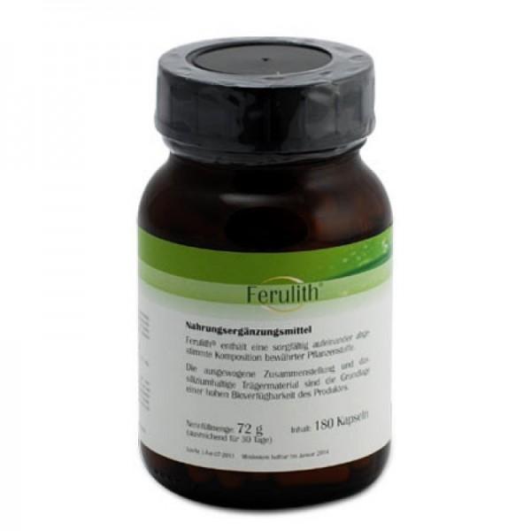 Ferulith mit Siliziumdioxid und Pflanzenstoffen