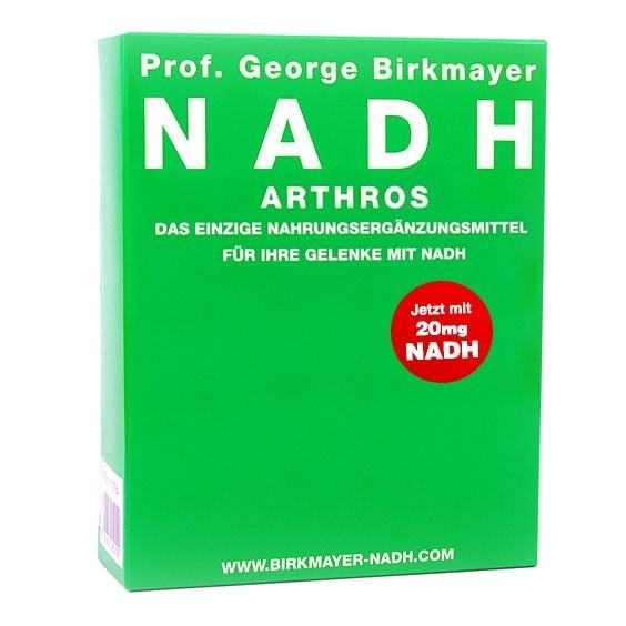 NADH Arthros mit Glucosamin, Chondroitin und MSM
