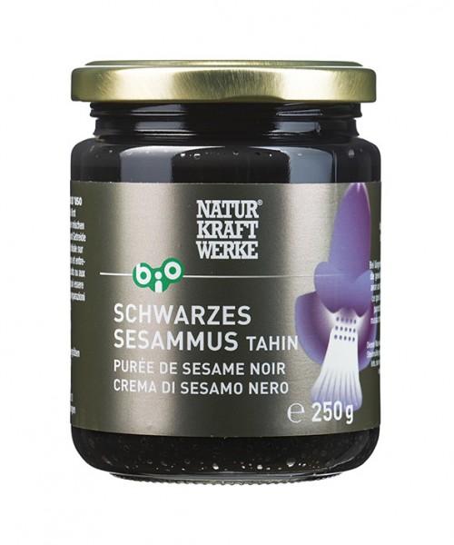 Schwarzes Sesammus, Tahin, BIO/kbA