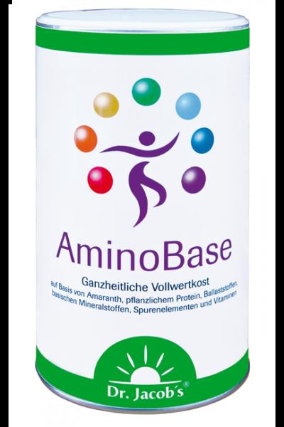 AminoBase mit pflanzlichen Proteinen, Ballaststoffen und basischen Mineralstoffen
