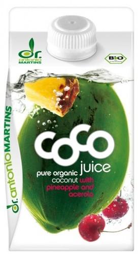 Bio Coco Juice Ananas und Acerola - Kokoswasser