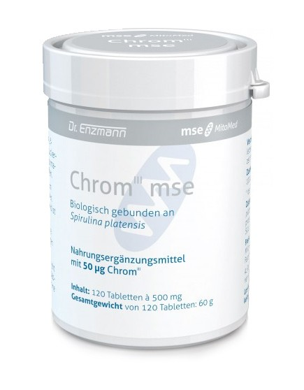 Chrom III mse 50 µg an Spirulina gebunden