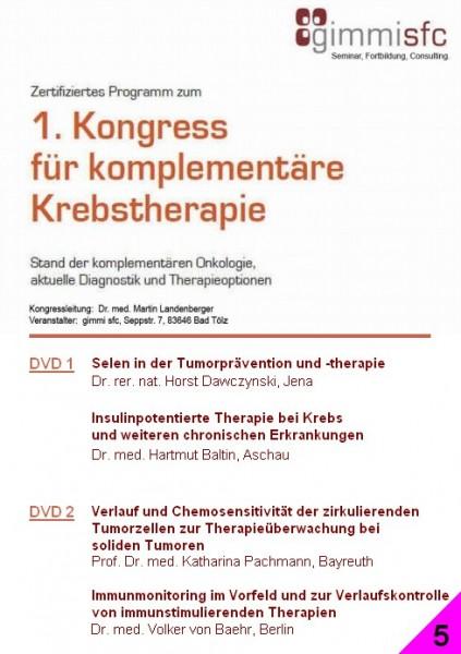 5.DVD zum Kongress für komplementäre Krebstherapie