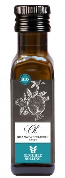 Granatapfelkernöl nativ, BIO