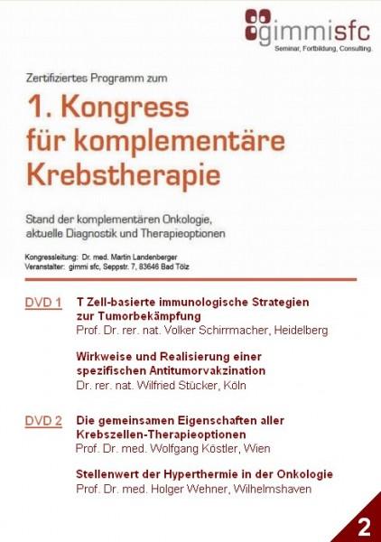 2.DVD zum Kongress für komplementäre Krebstherapie