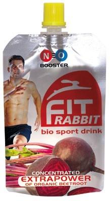fitRABBIT bio sport drink aus der Roten Bete