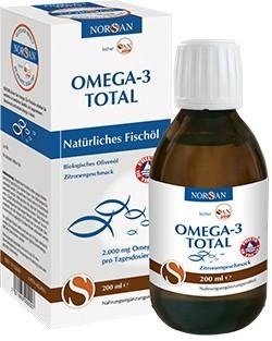 San Omega - 3 TOTAL aus hochwertigen Fischölen
