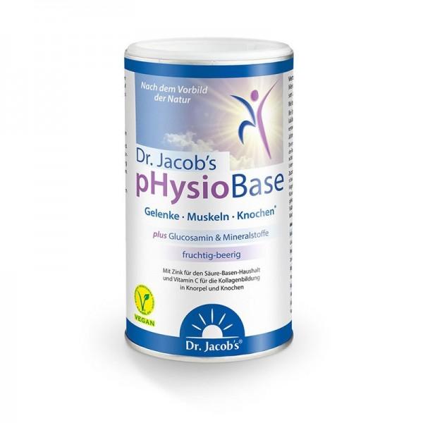 pHysioBase von Dr. Jacob - das fruchtige Basenpulver
