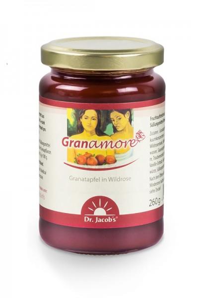 Granamore Fruchtaufstrich mit Granatapfel und Wildrose