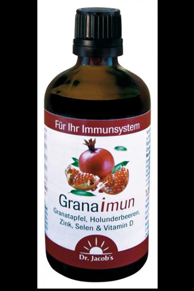 MHD 11/19 - Granaimun mit fermentierten Granatapfel,  Holunderbeeren, Zink, Selen  und Vitamin D