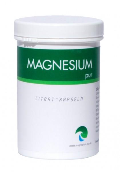 Magnesiumcitrat Kapseln - Magnesium Pur