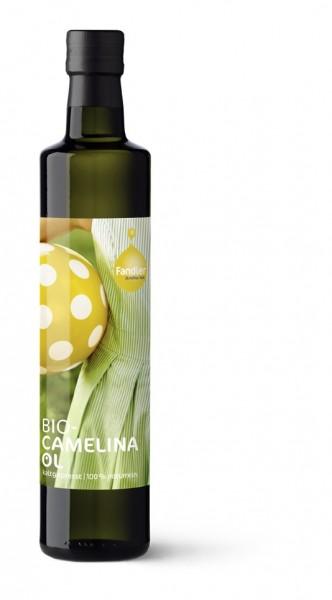 Camelinaöl - Leindotteröl, BIO - kaltgepresst, 100% naturrein
