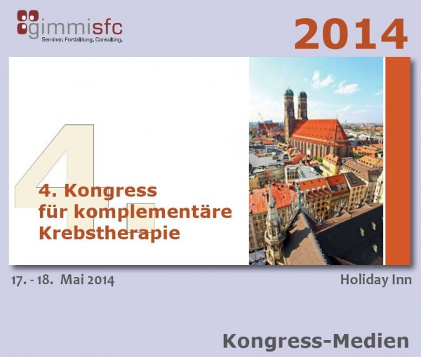 DVDs Komplementäre Krebstherapie zum 4. Kongress Onkologie, aktuelle Diagnostik und Therapieoptionen