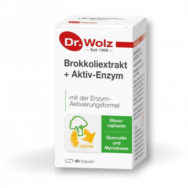 Brokkoliextrakt + Aktiv-Enzym Dr. Wolz