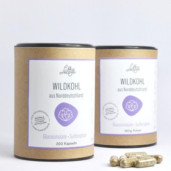 Wildkohl (ehemals Brassica Nr. 2) Kapseln mit Sulforaphan und Quercetin