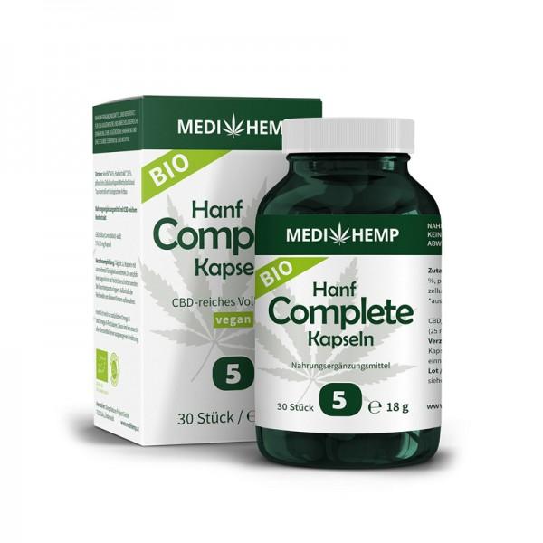 Bio Hanf Complete Kapseln 5% CBD