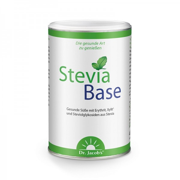 SteviaBase mit Xylit, Erythrit, Magnesium und Calcium