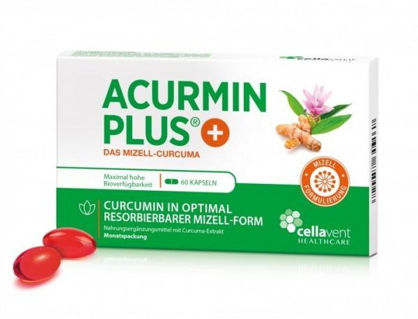AcurminPLUS Mizellen-Curcuma mit hoher Bioverfügbarkeit und Vitamin D